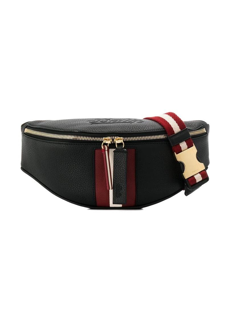 Bally stripe appliqué belt bag
