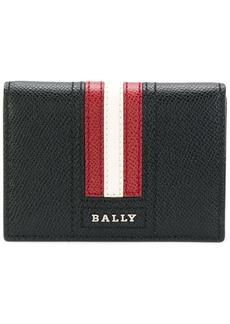Bally striped billfold cardholder