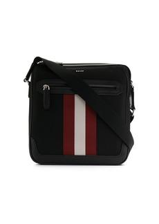 Bally striped detail shoulder bag