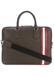 Bally striped detail tote bag