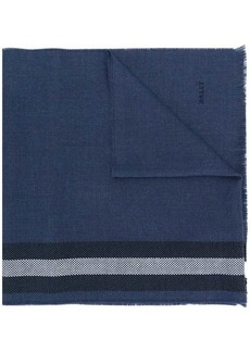 Bally striped knit scarf