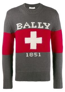 Bally Swiss logo pullover