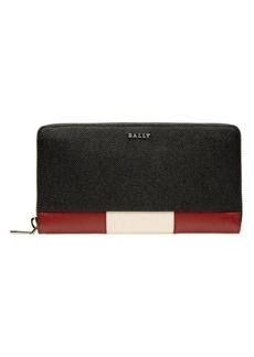 Bally Talen Pebbled Leather Continental Wallet