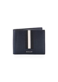 Bally Teuve Grain Leather Billfold Wallet