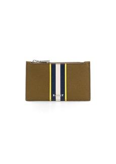 Bally textured colour-block wallet