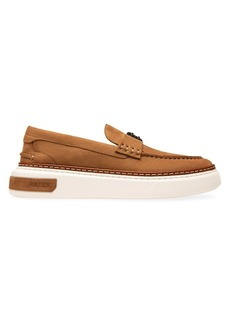 Bally Thick Sole Leather Loafers
