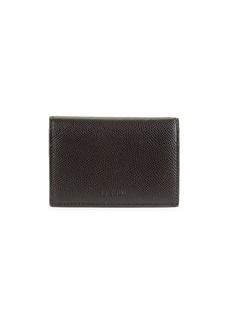Bally Tobel Leather Folding Card Holder