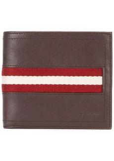 Bally Tollent stripe panel wallet
