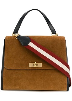 Bally twist lock tote bag