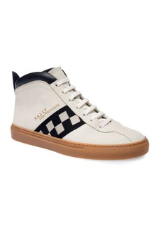 Bally Vita-Parcours Retro Leather High-Top Sneakers