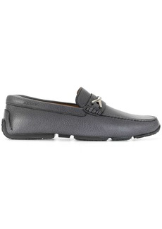 Bally woven-strap loafers