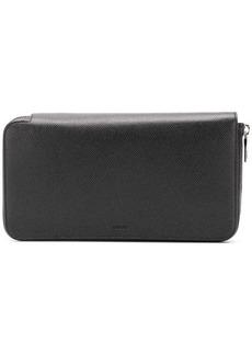 Bally zip-around long wallet
