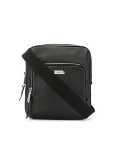 Bally zipped messenger bag
