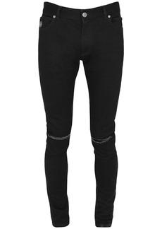 Balmain 12.5cm Distressed Ultra Skinny Jeans