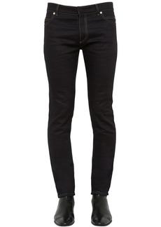 Balmain 17cm Skinny Brut Cotton Denim Jeans