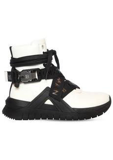 Balmain 20mm B Troop Leather Sneakers