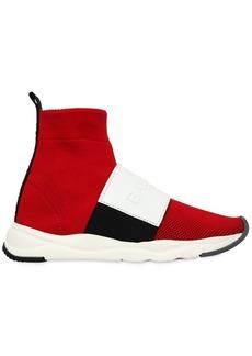 Balmain 20mm Cameron Knit Sock Sneakers