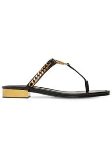 Balmain 20mm Presly Leather Sandals