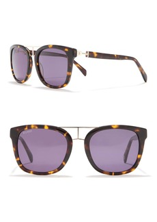 Balmain 52mm Clubmaster Sunglasses