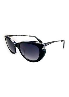 Balmain 53mm Modified Butterfly Sunglasses
