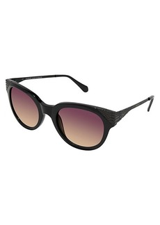 Balmain 53MM Oversized Oval Sunglasses