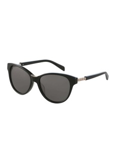 Balmain 54mm Modified Cat Eye Sunglasses