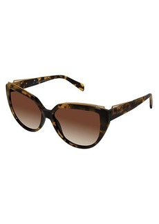Balmain 57MM Modified Cat Eye Sunglasses