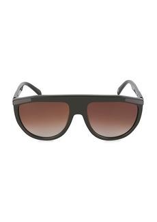 Balmain 57MM Shield Sunglasses