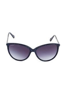 Balmain 59MM Oversized Cat Eye Sunglasses