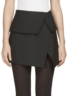 Balmain Asymmetrical Mini Skirt