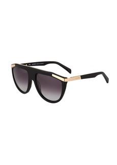 Balmain Aviator Acetate Sunglasses