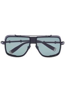 Balmain aviator-frame sunglasses