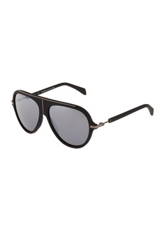 Balmain Aviator Metal Sunglasses