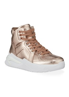 Balmain B Ball Iridescent Chunky Sneakers