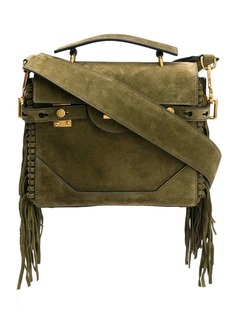 Balmain B-Buzz 23 fringed shoulder bag