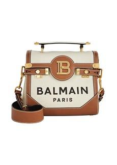 Balmain B-Buzz 23 Logo Canvas Bag