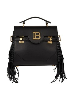 Balmain B-Buzz 23 Logo Leather Bag