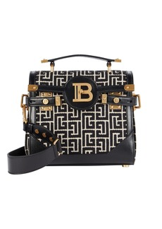 Balmain B-Buzz 23 Monogram Jacquard Bag