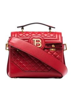 Balmain B-Buzz 23 quilted leather shoulder bag