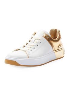 Balmain B Court Metallic Sneakers
