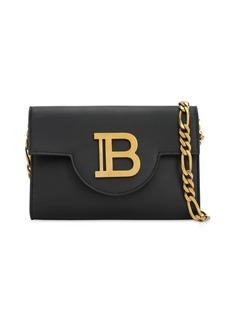 Balmain B-envelope Leather Shoulder  Bag
