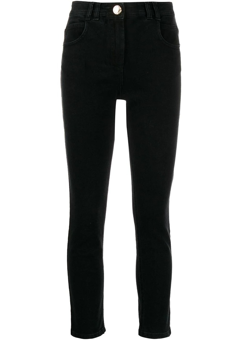 Balmain B monogram skinny jeans