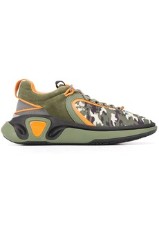 Balmain B-Runner camouflage sneakers