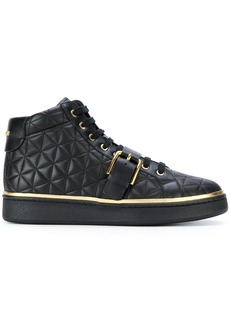 Balmain Active quilted sneakers - Black