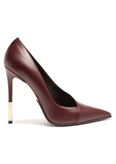 Balmain Agnes leather pumps