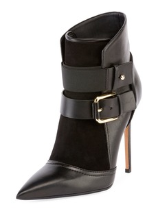 Balmain Anais 100mm Buckle Booties