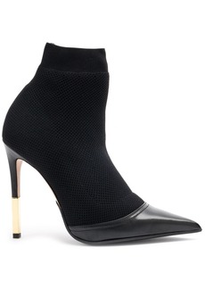 Balmain Aurore knitted ankle boots - Black
