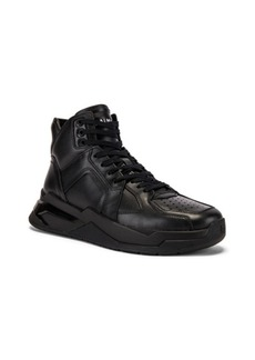 BALMAIN B-Ball Leather Sneaker