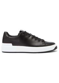 Balmain B-Court leather trainers