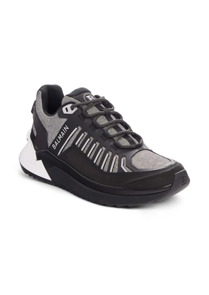 Balmain B-Trail Glitter Sneaker (Women)